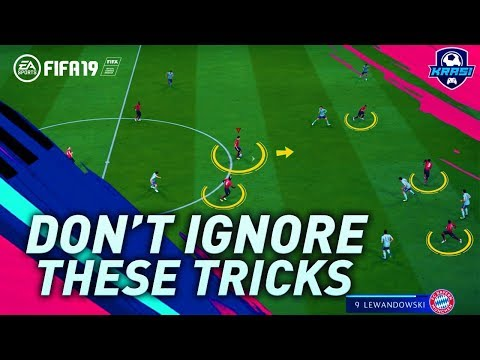 IF YOU DON'T USE THESE FIFA 19 TRICKS YOU WILL NEVER GET BETTER & BECOME A DIVISION 1 PLAYER