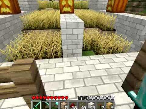 Различные механизмы в Minecraft - 23 серия