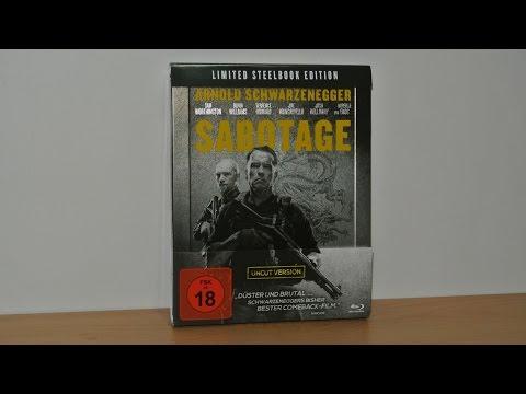 SABOTAGE - Limited Steelbook Uncut Edition (Blu-Ray)