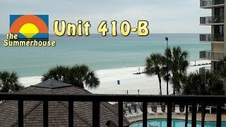Unit 410-B Summerhouse Panama City Beach Vacation Condo