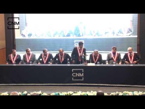 Juramentación como Presidente del CNM