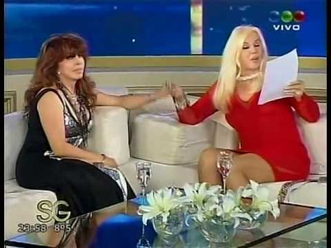 VERONICA CASTRO CON SUSANA GIMENEZ 2013