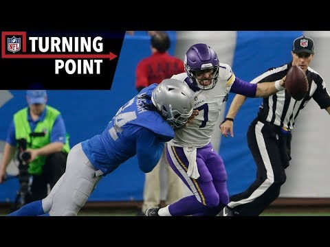 Video: Keenum Provides a Case Study in Grit Against the Lions (Week 12) | NFL Turning Point