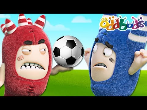 FOOTBALL FANATIC | Full Episodes | The Oddbods Show
