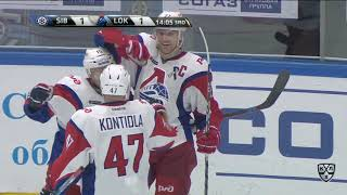 Lokomotiv 3 Sibir 4 OT 25 September 2017 Highlights