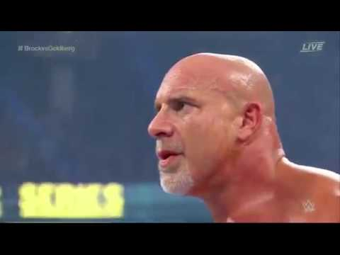 WWE Survivor Series 2016  Bill Goldberg vs Brock Lesnar full match   YouTube 360p