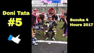 """Starting Grid Suzuka 4 Hours 2017 ada Doni Tata Pradita, doni tata kembali terlihat membalap motor supersport pada ajang Suzuka 4 Hours setelah pada tahun 2014 juga doi mengikutinya bersama team jepang akeno speed racing, dalam ajang balap ketahanan selama 4 jam 2017 ini doni tata menjadi pembalap ke 2 bersama pembalap jepang.Starting Grid Suzuka 4 Hours 2017 Semangat rider Indonesia #108 am fadly, #123 rheza danica , #198 awhin sanjaya, #05 doni tatavideo dari Official Facebook Asia Road Racing Championship------------------------------Terimakasih Sudah Menyaksikan! Thanks For Watching! Channel ini berisi berita Informasi Seputar Dunia Balap Grand Prix serta Klip / Video Para Pembalap Indonesia di kancah internasional.Jangan Lupa untuk:1. Like2. SUBSCRIBE3. Share4. CommentTerimakasih yang sudah Berkunjung dan Subscribe berlangganan channel saluran ini.Mohon maaf jika masih banyak kekurangan.Follow HereSubscribehttp://www.youtube.com/c/GPManiaIndonesiaTwitterhttps://twitter.com/GPManiaIndoFacebookhttps://www.facebook.com/gpmaniaindonesiaG+https://plus.google.com/u/0/116450608444653656711====================COPYRIGHT NOTICE CLAIMSPlease if you have any issue with the content used in my channel or you find something that belongs to you, before you claim it to youtube SEND ME A MESSAGE and i will DELETE it right away , I have WORKED REALLY HARD for this channel and i can't start all over again , Thanks for understanding """"Copyright Disclaimer""""Under Section 107 of the Copyright Act 1976, allowance is made for """"fair use"""" for purposes such as criticism, comment, news reporting, teaching, scholarship, and researc"""