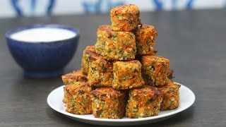 Mixed Vegetable Tots by Tasty