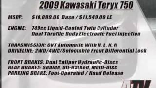 7. ATV Television Test - 2009 Kawasaki Teryx 750
