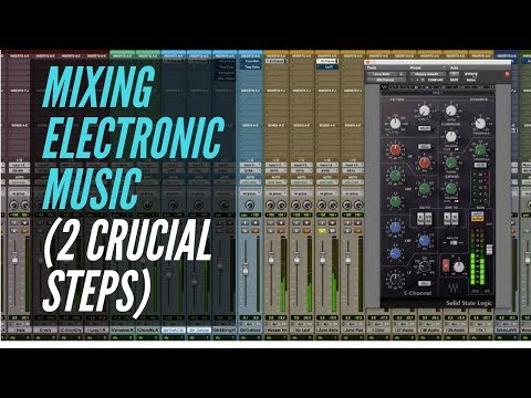 Mixing Electronic Music (2 Crucial Steps) - RecordingRevolution.com