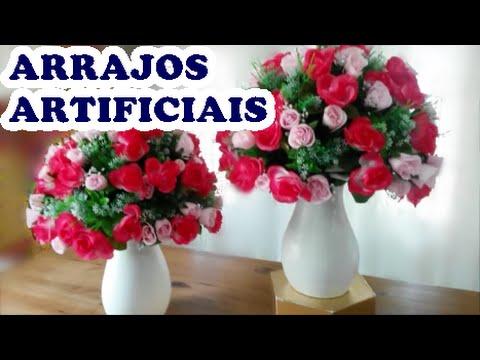 arranjos de flores artificiais