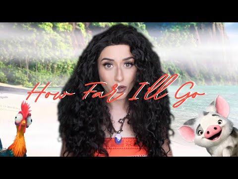 "Alessia Cara  ""How Far I'll Go"" Cover by Georgia Merry"
