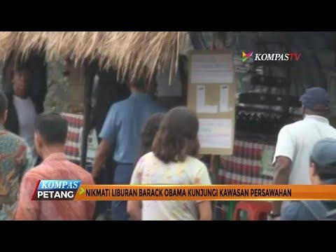 Barack Obama Kunjungi Kawasan Persawahan di Bali