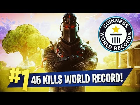 45 Kills World Record -  Teeqzy Vs Squad ( Fortnite Battle Royale Gameplay Solo Vs. Squad )