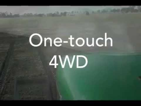 One Touch 4WD with the Goldacres Crop Cruiser Evolution