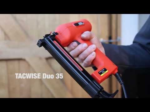 Agrafeuse Electrique - Tacwise Duo 35
