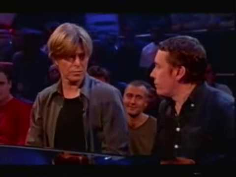 David Bowie Gets Annoyed:  This is the original edit. Some people are using this clip as if they edited it and renaming the clip:David Bowie is the consumate gentleman when it comes to interviews and a true professional on the stage. But even he can get fed up sometimes... here's a few clips showing him doing just that and where the interviewers get owned by the master.Bowie is renown for being a little difficult but when you see why he's answering? the way he is, you'll understand why. Many interviewers would ask silly & personal questions especially in the 70's & he's just not the sort of guy to put up with it. When an interview is fun he's incredibly charming and witty.I just wanted to show he's human and show how tiresome some interviews are. And as has been pointed out; these clips are the only ones I could find out of the thousands of hours and 40 years of Bowieness, where he's a little fed up. Not bad going Mr Bowie.(The concert footage was due to many factors; voice, band problems, technical problems, g/f problems.)