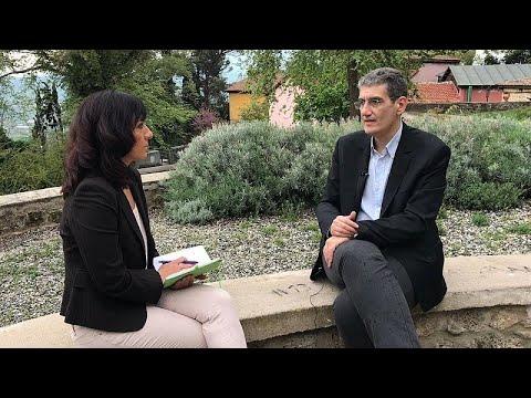 Ο Χρήστος Γιαννούλης στο euronews