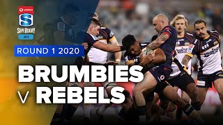 Brumbies v Rebels Rd.1 2020 Super rugby Australia video highlights