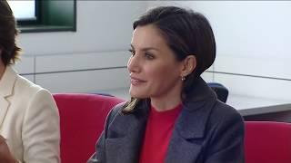 S.M. la Reina se reúne con la Junta Directiva de la Federación Española de Enfermedades Raras