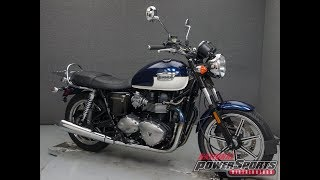 7. 2010  TRIUMPH  BONNEVILLE SE    - National Powersports Distributors