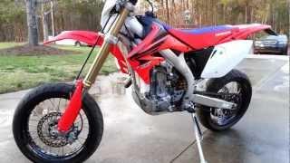 6. 2007 crf 450 supermoto