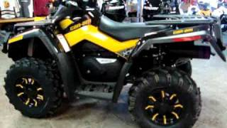 1. 2010 Can-Am Outlander 650 XTP