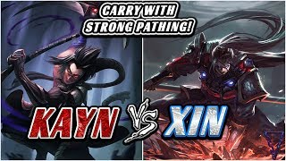 Carry With Patience & Smart Pathing (Kayn/Rhaast vs Xin Zhao)