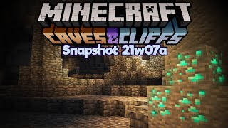 Searching for Diamonds in Grimstone Caves! • Minecraft 1.17 Snapshot 21w07a • Caves & Cliffs Update