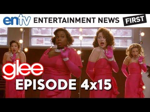 GLEE - CAP Episode 4x15 : Girls And Boys On Film, Rachel's Baby, Klaine and More - ENTV (видео)