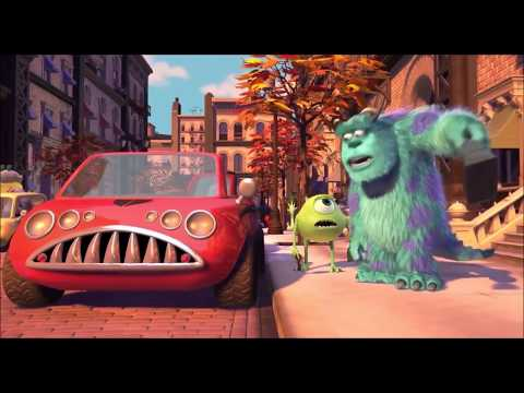 Monsters inc Mike and Sully go to work