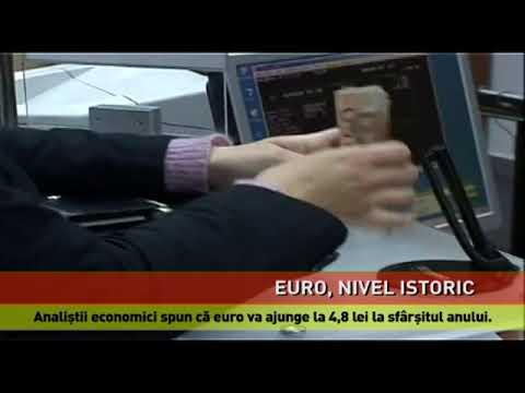 Depreciere alarmantă a leului, în raport cu euro