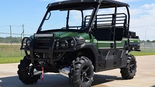 "8. 2015 Kawasaki Mule Pro FXT LE with 28"" Tires, Stereo, Winch and More!"