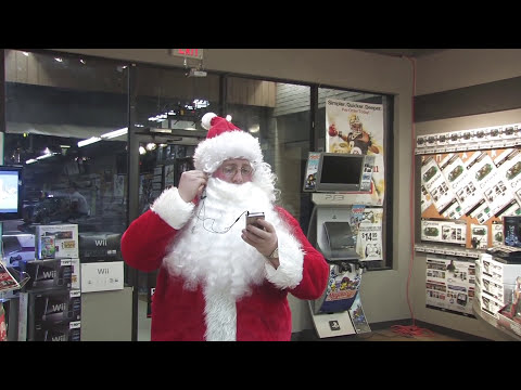 Gamestop Santa - Outtakes and Bloopers