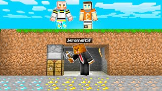 Minecraft Speedrunners VS Hunters (XRAY Hacks)