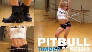 Pitbull ft. Ke$ha - Timber (Dance Tutorial) - YouTube