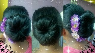 hello everyone....Today's video is a hair bun tutorial -EASY ELEGANT HAIR BUN FOR MEDIUM/LONG HAIR TUTORIALINDIAN HAIRSTYLE FOR SAREEPARTY HAIRSTYLE Things You Need:-1.Elastic Band2.Boby Pin3.U shaped Updo Pinsplz LIKE the video & SUBSCRIBE to my channelCONTACT:mkb.makeubeautiful@gmail.comFOLLOW ME: TWITTER:https://twitter.com/makeUabeautifulFACEBOOK:https://www.facebook.com/MakeUbeautiful-1671222829841630/XOXOMoumitaWATCH MY OTHER VIDEOS:-PATANJALI BODY UBTAN REVIEW  HOW TO USE PATANJALI BODY UBTAN  PROS & CONShttps://youtu.be/G8AnA-KIeOUHOW TO LIGHTEN DARK UNDERARMS EASILY AT HOME  GET RID OF DARK ARMPITS FAST  makeubeautifulhttps://youtu.be/r6vJMC28bNsTOP 6 AFFORDABLE SUMMER LIPSTICKS FOR INDIAN SKINTONE UNDER Rs 650/-  makeUbeautifulhttps://youtu.be/urIEvS7A7nEHOW TO GET RID OF DARK SPOTS,BLACK SPOTS,ACNE SCARS  GET BRIGHTER,CLEAR,SPOTLESS SKINhttps://youtu.be/_K-M41qLAeEHomemade BODY UBTAN/BODY PACK to get Even Looking, Brighter, Healthy , Glowing & Suntan Free Skinhttps://youtu.be/I2eoJJcxwf0GET GLOWING SKIN INSTANTLY  #WINTERSPECIAL Facemask for Healthy Skinhttps://youtu.be/eHy88IX7vbkBEST BODY OIL AT AFFORDABLE PRICE  PATANJALI TEJAS TAILUM REVIEWhttps://youtu.be/6bchAGEcv50GET FAIR SKIN IN JUST 20 MINUTES  VERY EFFECTIVE NATURAL HOME REMEDYhttps://youtu.be/5uNqnGDa3-sMagical Remedy To Get Crystal Clear Spotless Skin Overnight  100% Tried & Testedhttps://youtu.be/SwG4qTRHJ2sHow To Make BRIDAL UBTAN To Get The Bridal Glow https://youtu.be/J7KWrEa7Ul8DIY NATURAL HOMEMADE SCRUB FOR FACE & BODY  GET SOFT,SMOOTH,HEALTHY SKIN INSTANTLY https://youtu.be/ni92H1GAz2cGET RADIANT, BRIGHT, GLOWING SKIN  DIY COFFEE FACEMASK  makeUbeautifulhttps://youtu.be/sBmL9TMF8x0MAGICAL DRINK FOR EXTREME WEIGHT LOSS  NO DIET ,NO EXERCISE   100% EFFECTIVE  RESULTShttps://youtu.be/2Bed58vjdX8How To get CLEAR BRIGHT SKIN   DIY Easy Homemade Facepackhttps://youtu.be/1AWEMR35hxcBEST HAIR OIL FOR HAIR LOSSHAIR GROWTHDANDRUFFDRY HAIRHAIR REGROWTHTHICK HAIRHEALTHY HAIRhttps://youtu.be/-ZBqbK