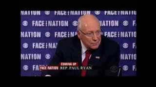 Former Vice President Dick Cheney on 'Face The Nation' - 3/9/2014