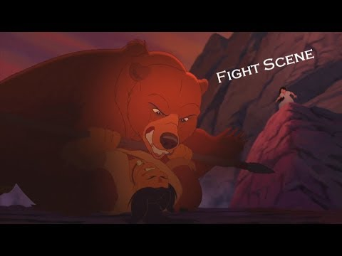 Brother Bear 2 - Fight Scene (HD)