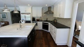 Transitional Style Design Build Kitchen Remodel in Laguna Niguel Orange County
