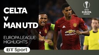 Celta Vigo 0-1 Manchester United   Europa League Highlights