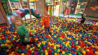 Busfabriken Playground Fun for Kids (really long edit)