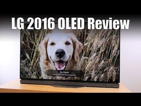 LG E6 2016 4K HDR OLED TV Review