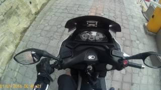 8. Kymco Xciting 250Rİ yola devam ile şehitlik ziyareti 1
