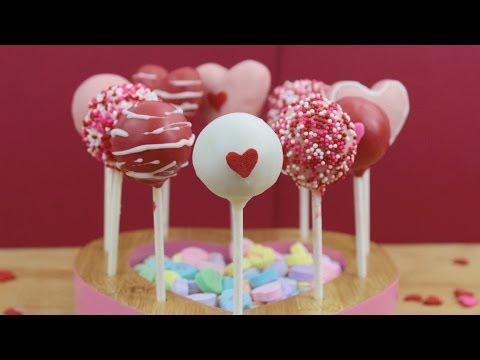 Valentine's Day Cake Pops!