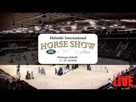 🔴 LIVE | TO | Helsinki International Horse Show | 17.-21.10.2018