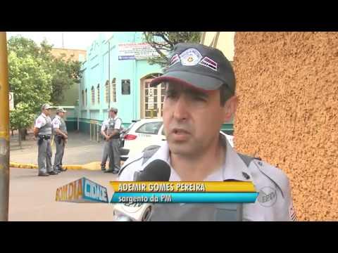 Suspeitos trocam tiros com polícia após explosão de caixas em Ipuã