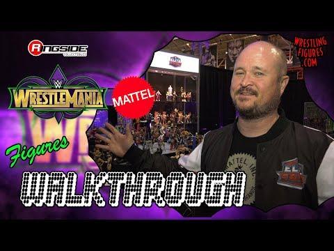 Wrestlemania 34 Axxess: New Mattel WWE Figures! Walkthrough with Bill!
