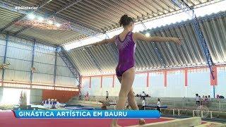 Mais de 100 atletas participam de campeonato de Ginástica Artística em Bauru