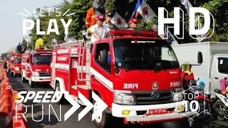 Video Pawai Mobil Pemadam Kebakaran (Damkar) ~ Fire trucks Firefighter parade @Solo Central Java Indonesia MP3, 3GP, MP4, WEBM, AVI, FLV Desember 2017